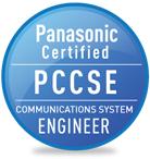 Panasonic Certified Communications System Engineer