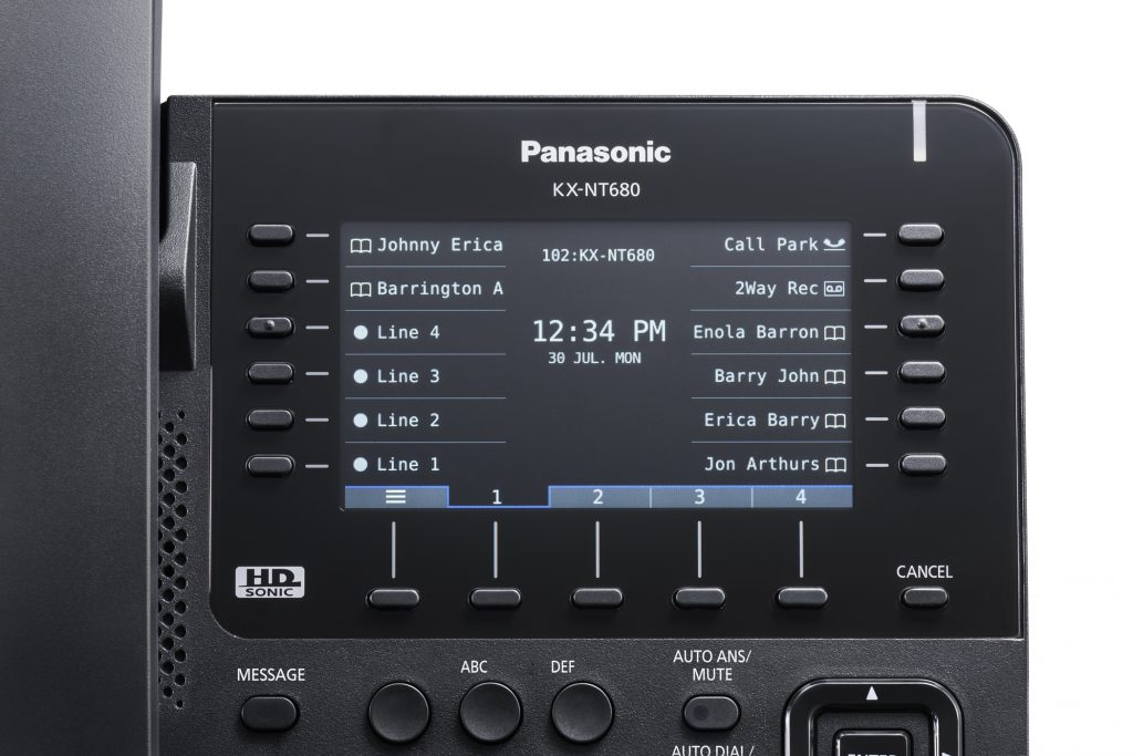 Panaosnic KX-NT680-LCD