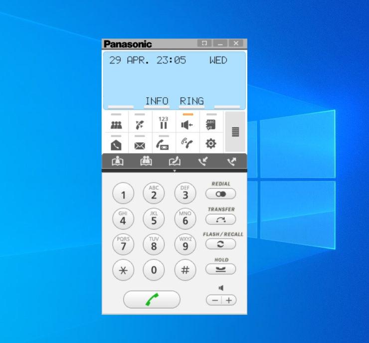 Panasonic IP Softphone